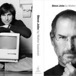 La copertina della biografia di Steve Jobs, completa