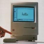 Lo storico Macintosh 128k