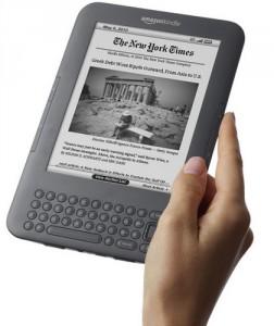 Il Kindle 3 di Amazon