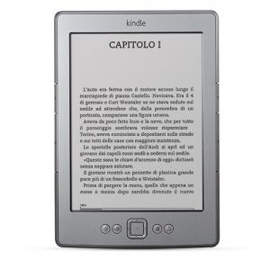 Il Kindle 4 di Amazon arriva anche in Italia