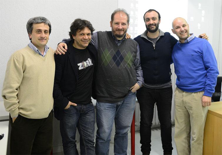 relatori al Text Adventure Day del Vigamus il 9 marzo 2013