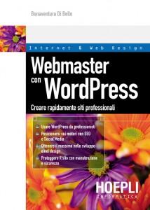 impara a creare un sito Web professionale con il libro Webmaster con WordPress
