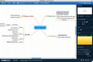MindMeister applicazione per la creazione di mappe mentali