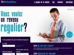 fractualities.com è la versione francese di umfragenews.com