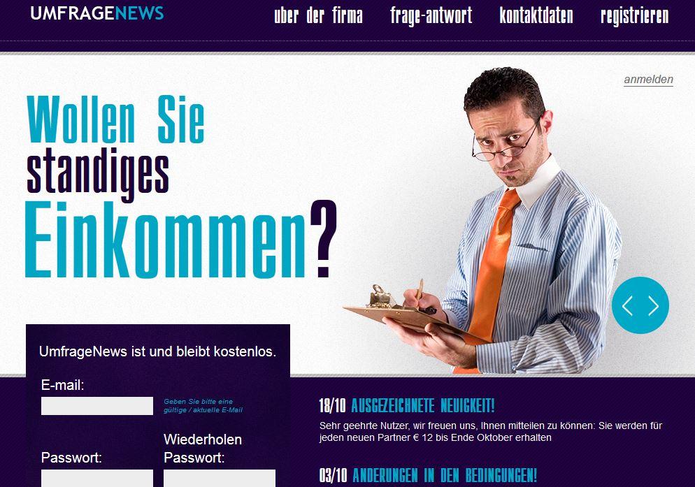 UmfrageNews.com – Benefattori o truffatori?