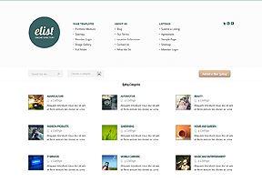 uno dei temi WordPress specializzati di Elegant Themes, Elist