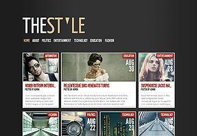 uno dei temi WordPress stile Web magazine di Elegant Themes