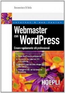 libro Webmaster con WordPress copertina