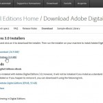 collegamenti per scaricare il software Adobe Digital Edition in versione Mac e Windows
