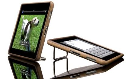 custodia in bamboo per iPad