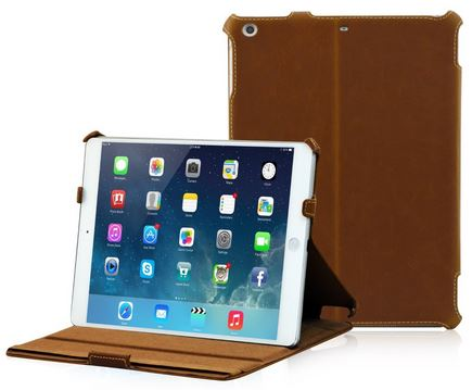 Una custodia in pelle per iPad