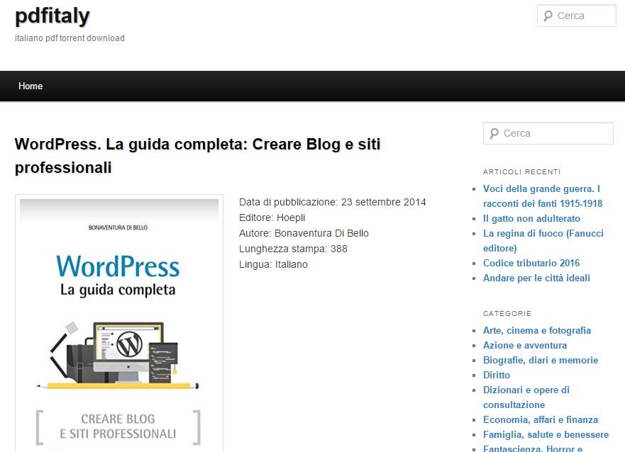 libri ed ebook pdf italiani truffa su pdfitaly.com