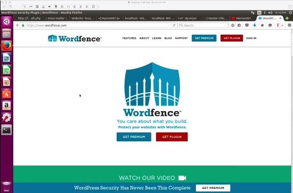 video dimostrativo wordfence su piattaforma di attacco a WordPress