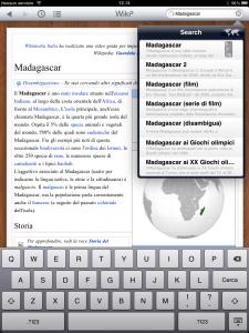 Le app per Wikipedia abbondano anche su iPad